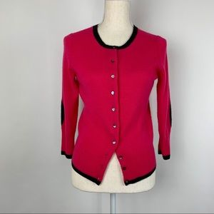 Only Mine Cardigan SP 2 Ply Cashmere Pink Black
